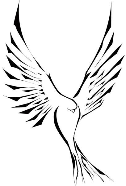 Holy Spirit Dove Outline by Holy Spirit Dove Tattoos Cliparts Co
