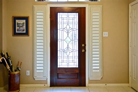 Glass Front Door Shades Guida Door Window 4 Ways To Dress Up Your Sidelights