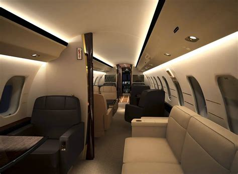 Global 6000 Interior by Bombardier Global Express Interior