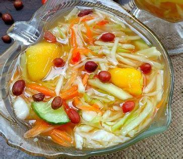 resep   membuat asinan buah resep masakan mertua