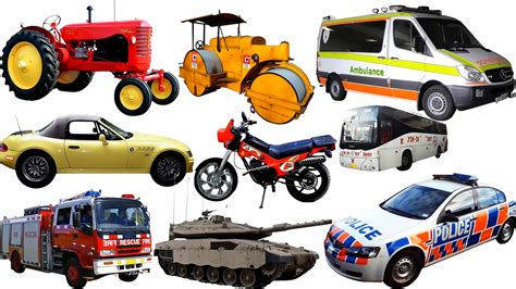 cars and trucks vehicles the educational