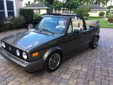 small engine maintenance and repair 1989 volkswagen cabriolet head up display mint 1989 volkswagen cabriolet all original and low miles classic volkswagen cabrio 1989 for sale
