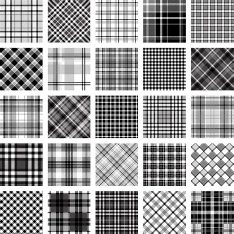 upholstery pattern vector plaid fabric patterns seamless vector free vector in