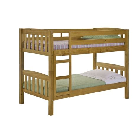 america solid pine bunk bed antique graphite or