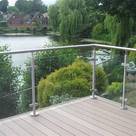 Toughened Glass Clear Panel   World of Decking