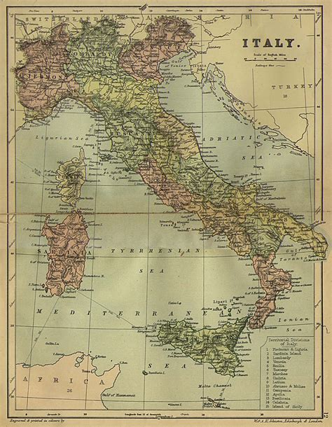 map of and italy nationmaster maps of italy 60 in total