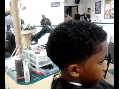 s curl with the a fade taper w curls by barber chris leggett youtube