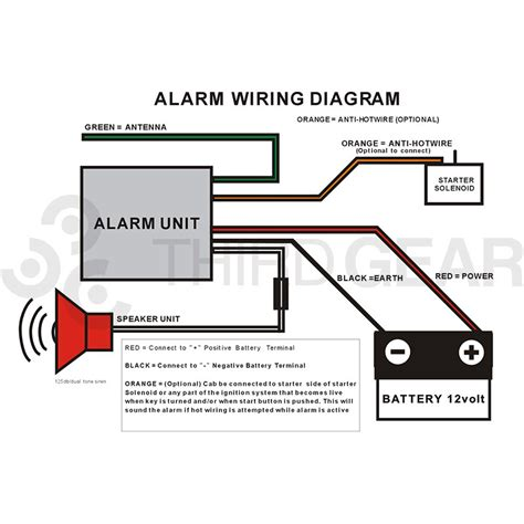 100 wiring diagram for motorcycle alarm alarm k