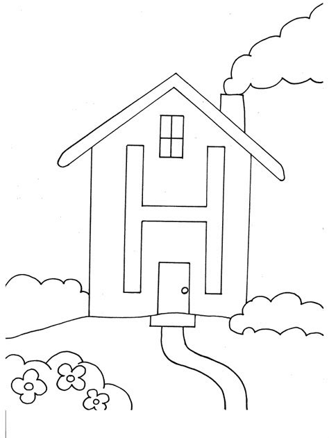 coloring pages letter h letter coloring pages coloring pages to print