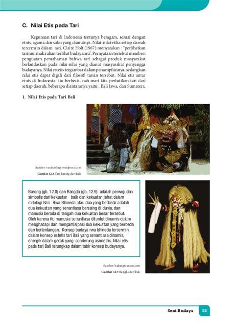 Seni Budaya Kelas Xi Sma Semester 2 Kemendikbud bab vi kelas xi seni budaya
