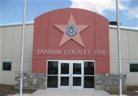 Fannin County Arrest Records Fannin County Prison Bid Ness
