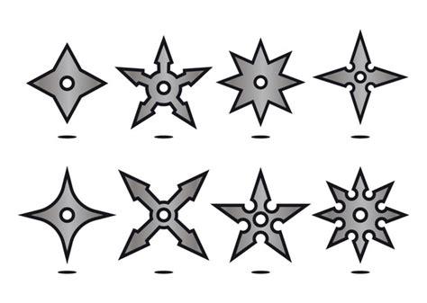 printable ninja star template silver ninja throwing star icon vectors download free