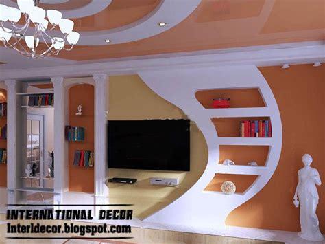 Gypsum Interior Ceiling Design by Modern Gypsum Board Wall Interior Designs And Decorative