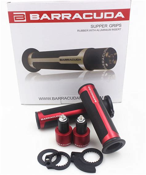 Handgrip Barracuda Motorcycle Handle Bar Cnc Grips W Bar Ends Techparts