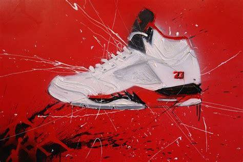 sneaker painting swag jordans more swag