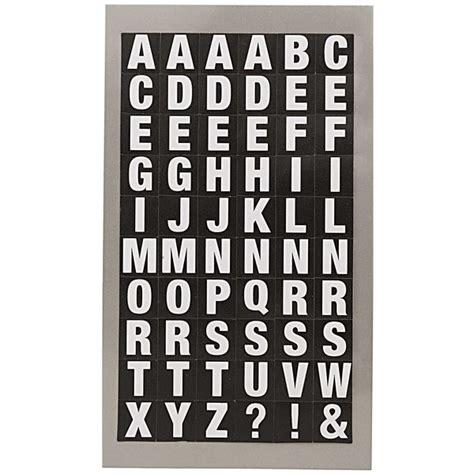Sticker Buchstaben Schwarz by Paper Poetry Office Sticker Buchstaben Wei 223 Schwarz 4