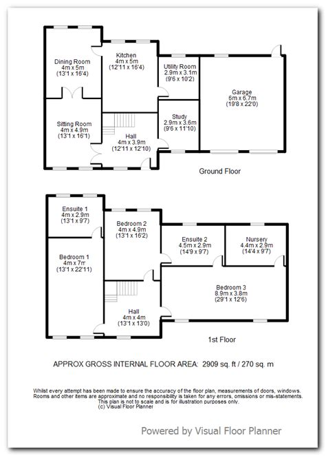 Floor Planner Uk Visual Building Topic Fast 2d Plan Creation For Estate
