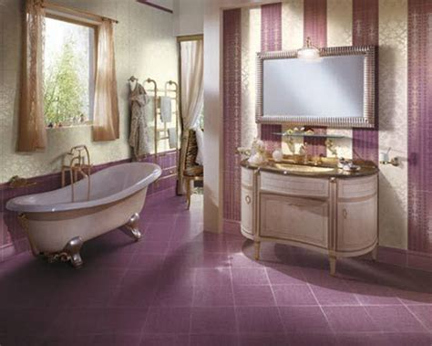 24 purple bathroom floor tiles ideas and pictures