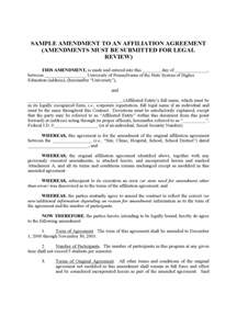 contract amendment template 6 free templates in pdf