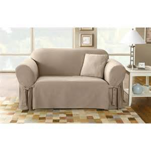 Loveseat Slipcovers Walmart Sure Fit Loveseat Slipcover Linen Walmart