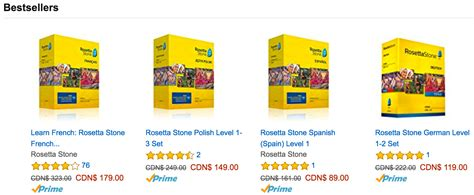rosetta stone english amazon amazon ca boxing day canada