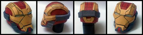 Iron Helmet Papercraft Pdf - iron 17 breaker papercraft by suraj281191