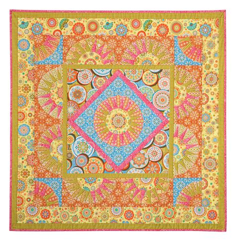Sun Quilt Pattern by Quilt Inspiration Free Pattern Day Sun And Solstice Quilts