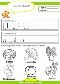 7 alphabet tracing pages