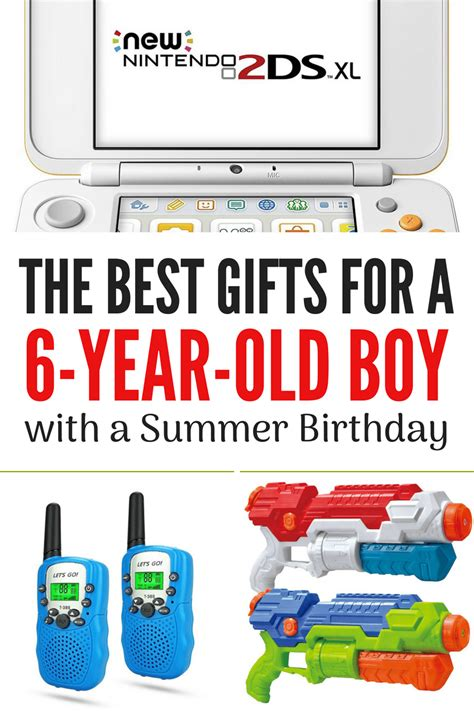 besttop gifts for 6 year old boys 2018 the best gifts for a six year boy with a summer birthday