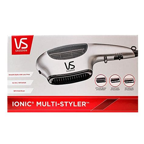 Hair Dryer Vidal Sassoon 1875 Ionic vidal sassoon vs783 1875 watt professional anti static ion