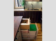A Few Practical Ways Of Incorporating Dustbins Into Your ... Cabinet Doors