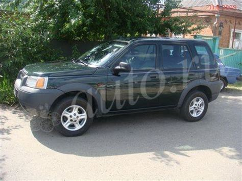 land rover freelander 1999 1999 land rover freelander di review
