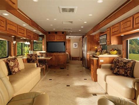 motor home interiors luxury rv interiors diplomat class a motorhome