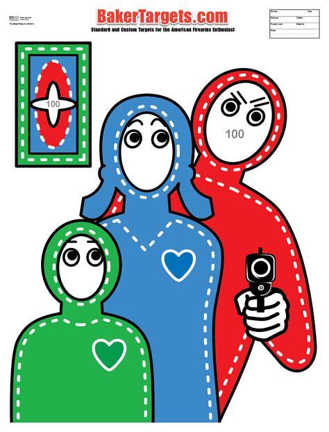 printable terrorist targets printable hostage shooting targets www imgkid com the