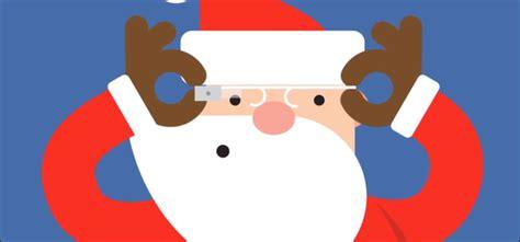 google images santa claus santa wears google glass in google s tracker glass almanac