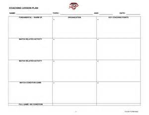 soccer lesson plan template best photos of sle coaching development plan employee