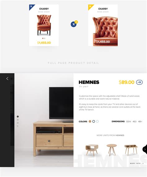 ikea app redesign concept on behance redesigning the website of ikea on student show