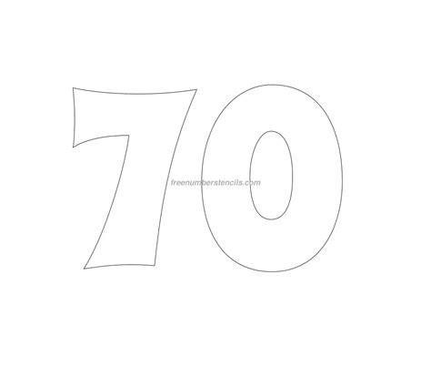 stencil template free groovy 70 number stencil freenumberstencils