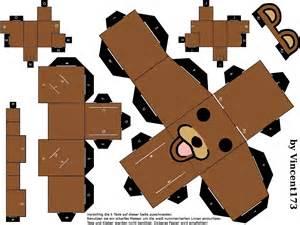 Papercraft Images - cybergata pedobear papercraft