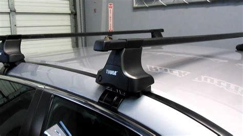 Thule 480 Traverse Roof Rack by Honda Accord Sedan With Thule 480 Traverse Base Roof Rack