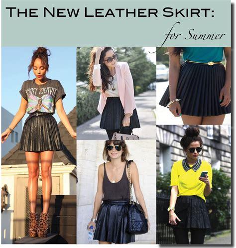 ideas for my pleated leather skirt looks i wanna