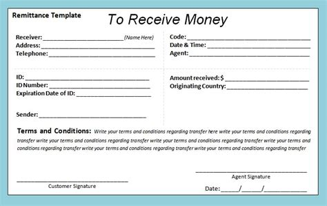 bank receipt template fillable receipt template doc file 25 kb excel