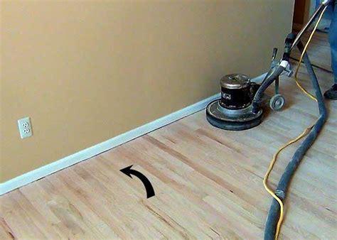 Hardwood Flooring Edgers   Sanding Sequences