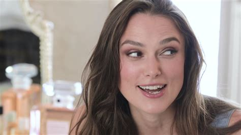 Keira Knightley Refuses To Smile by The With Keira Knightley For S Bazaar