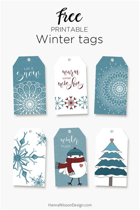 printable winter greeting cards 1159 best tags images on pinterest christmas tag lawn