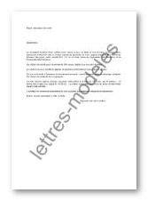 Modèle et exemple de lettres type : Attestation de vente d