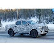 Mercedes Benz X Class Spy Photos And Information By CAR