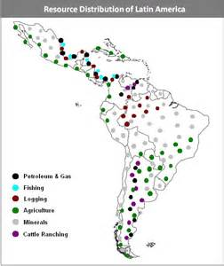 south america resources map alan dockrill environmental maps of america