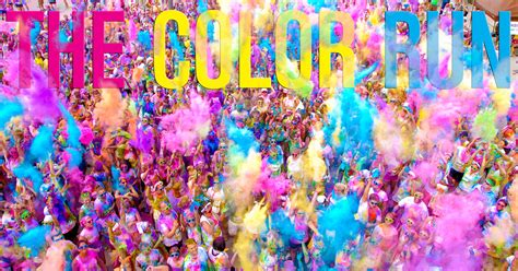color race the color run returns to barcelona