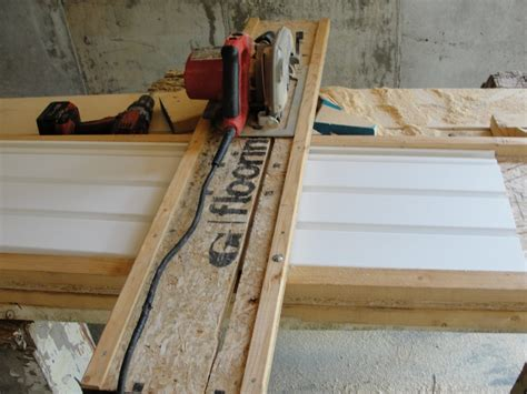build vinyl siding cutting table images